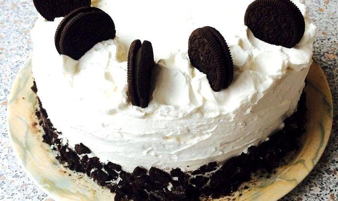 Шоколадный торт со сметанным кремом рецепт с пошагово