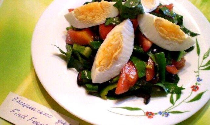 Салаты с французской горчицей рецепты