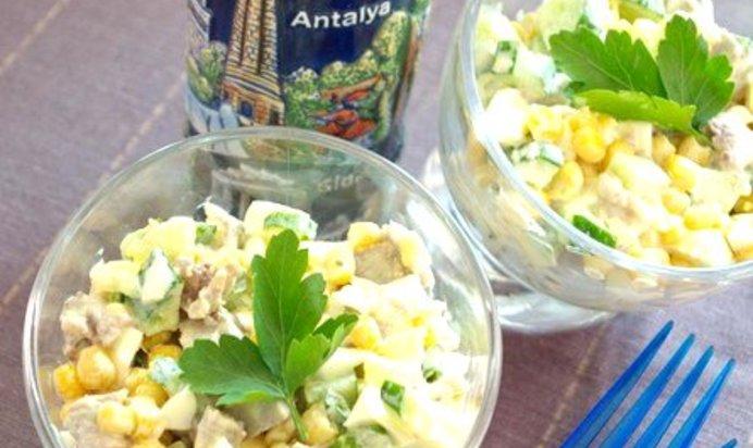 Салат каприз пошаговый рецепт фото