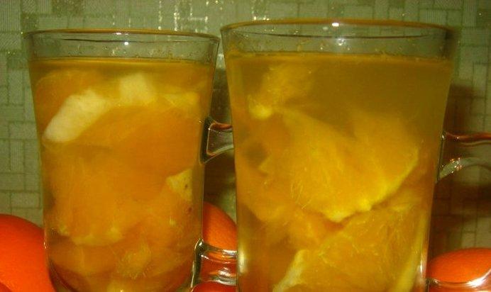 Компот из апельсинов рецепт фото пошагово