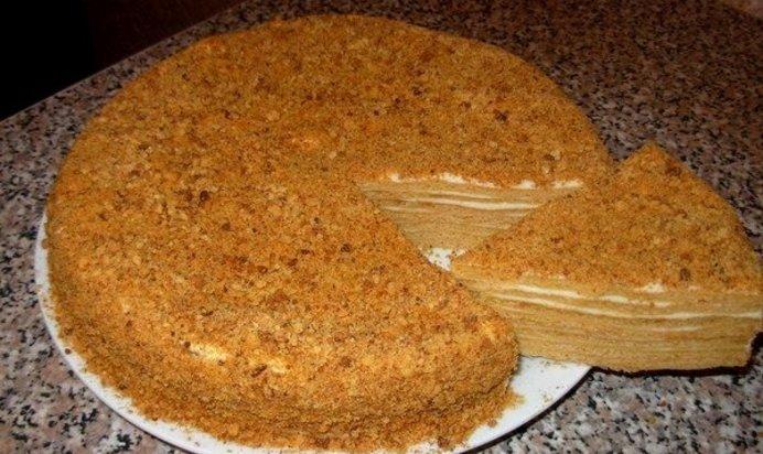 Медовый торт легкий в домашних условиях 354