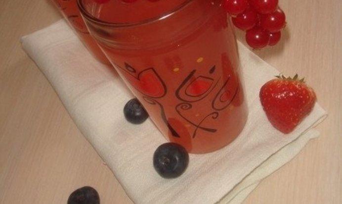 Кисель клубничный рецепт с пошагово