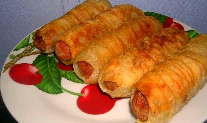 Сосиски в тесте жареные рецепт пошаговый с