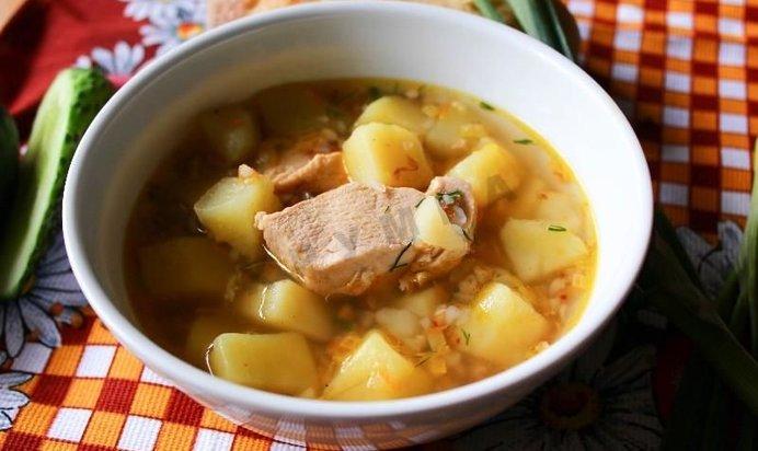 Гречневый суп с курицей в мультиварке рецепты с фото