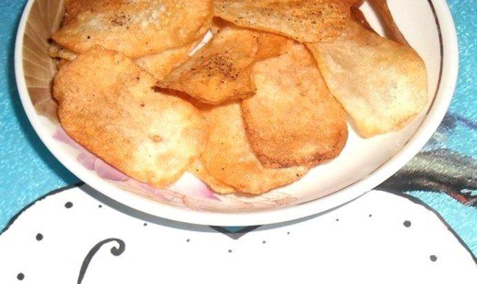 Чипсы в духовке рецепт с пошагово в