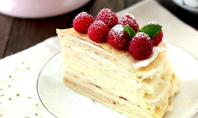 Торт с заварным кремом рецепт фото