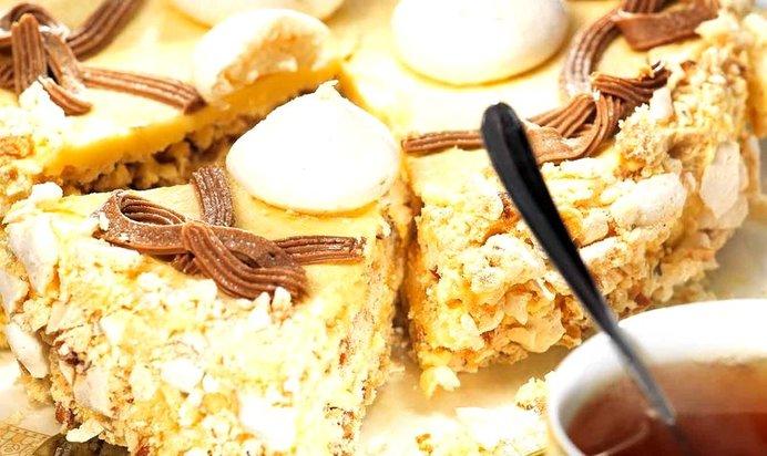 Торт полет рецепт пошагово с