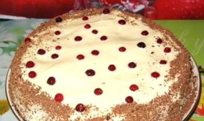 ягодный торт рецепт с фото пошагово