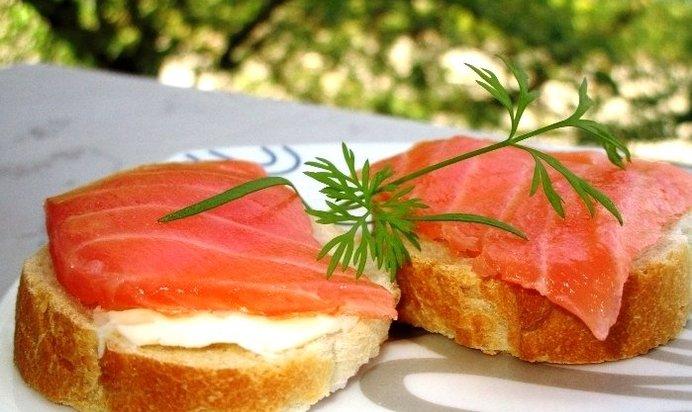 Бутерброды из красной рыбы рецепты 26