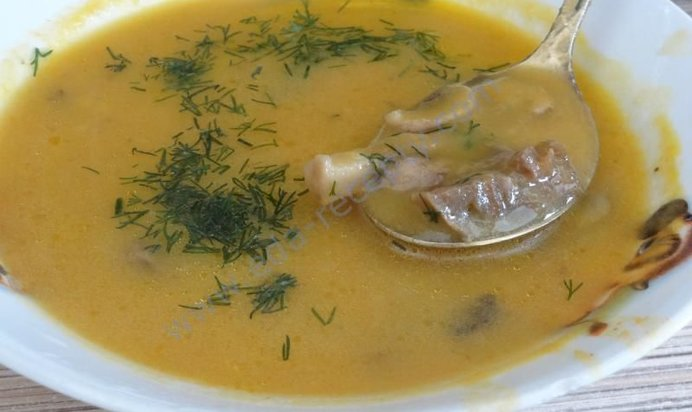 Суп пюре грибной рецепт с фото пошагово