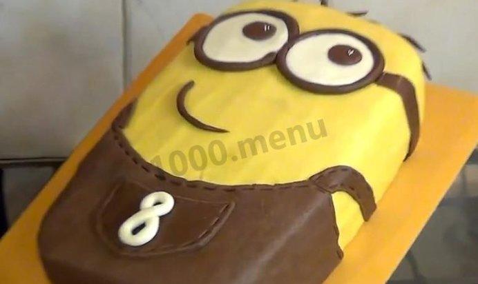 Торт миньон пошаговый рецепт с