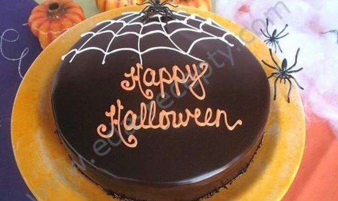 Рецепты с фото тортов halloween