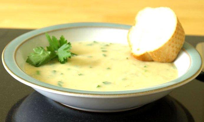 Суп с чесночными галушками рецепт пошагово