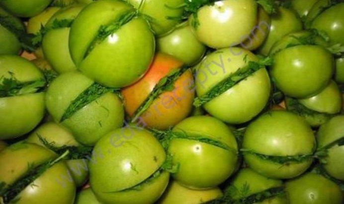 Как сделать красными зеленые помидоры 597