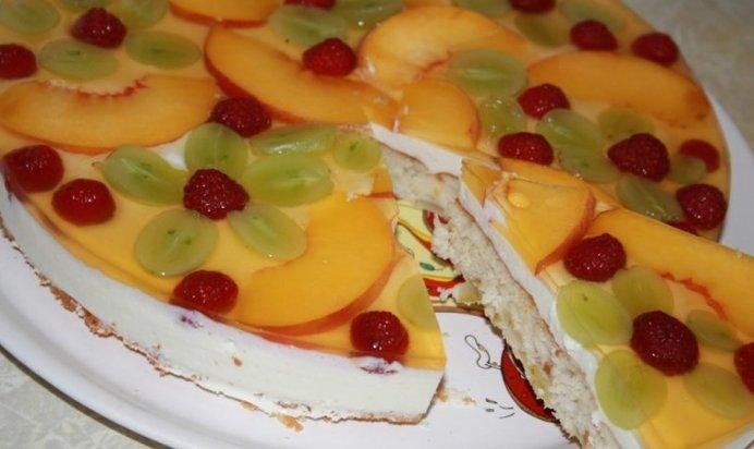 Фруктовые торты рецепты с фото домашних