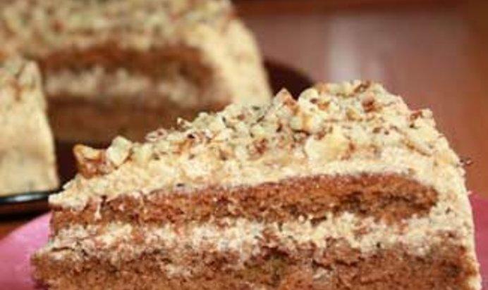 домашний торт идеал с рецепта
