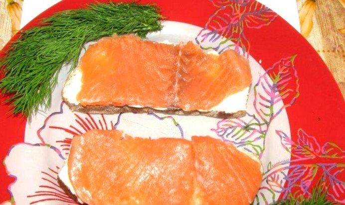 Бутерброды с красной рыбы с пошагово