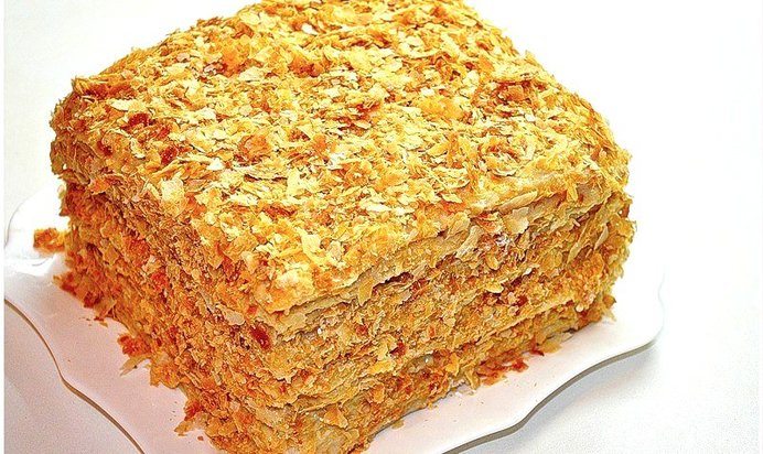 Торт наполеон рецепт с пошаговый рецепт пошагово
