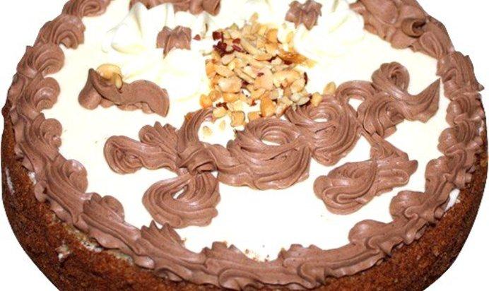 Пошаговый рецепт с шоколадный торт с
