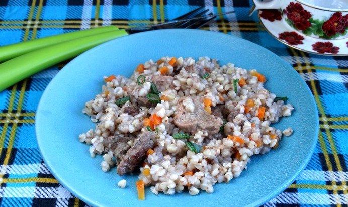 Говядина с гречкой рецепт пошаговый