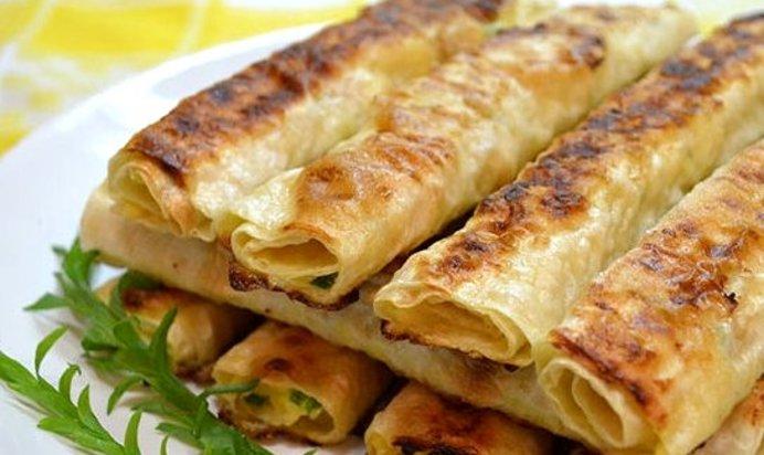 Лаваш с начинкой жареный на сковороде рецепт с пошагово