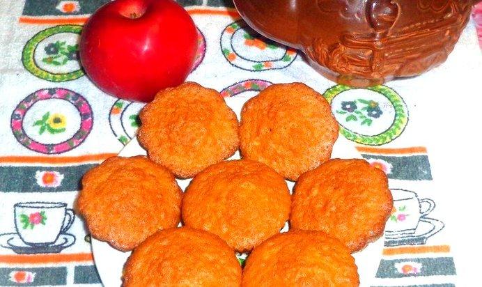Бисквитные кексы простые рецепты