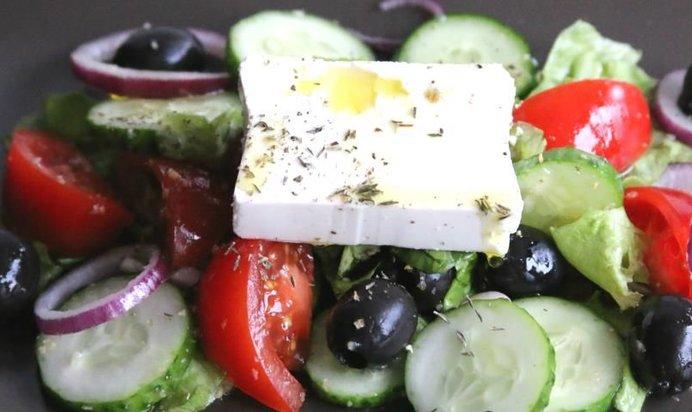 Салат пошаговый рецепт с фото греческий