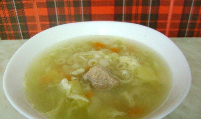 Макаронный суп рецепт с фото