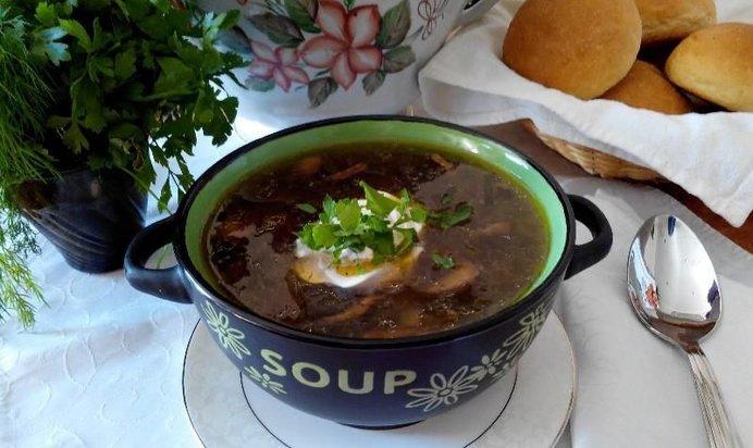 Грибной суп в мультиварке рецепт пошагово