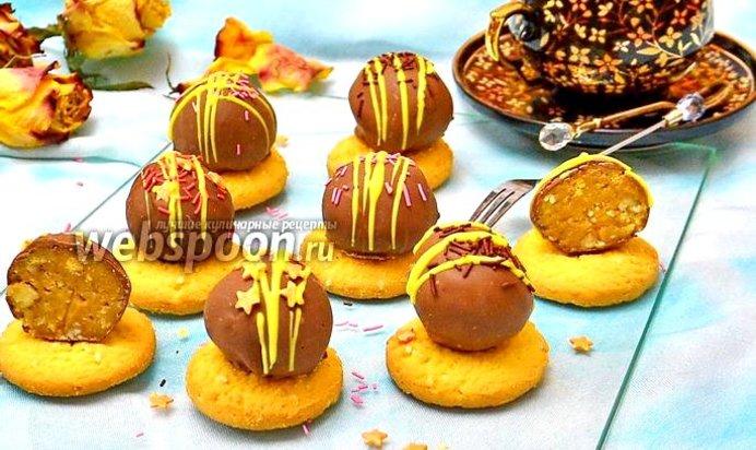 Десерт из бананов и шоколада рецепт