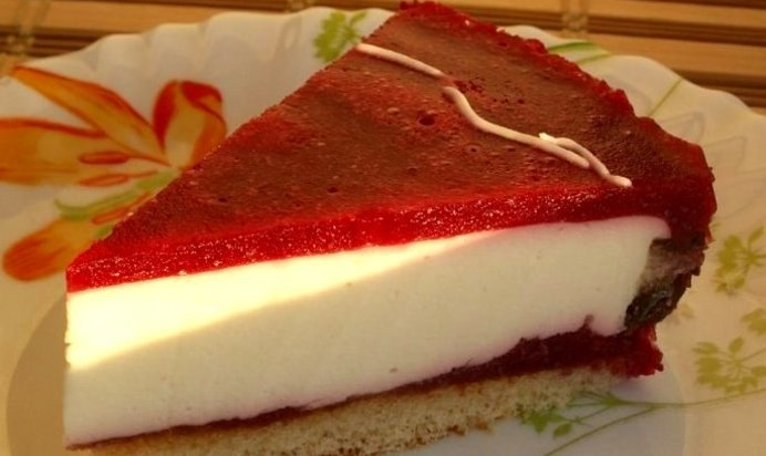 Рецепт желе для торта