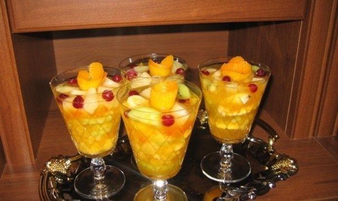 десерт из фруктов рецепт с фото