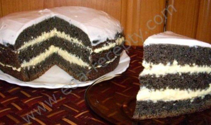 Рецепт черемухового торта домашний фото