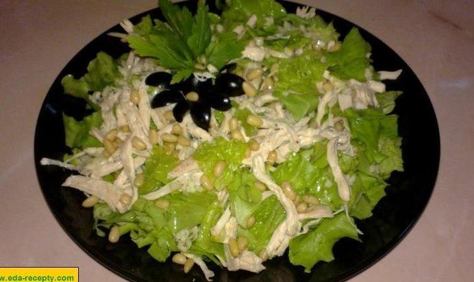 салат с гранатом и рецепт с фото пошагово