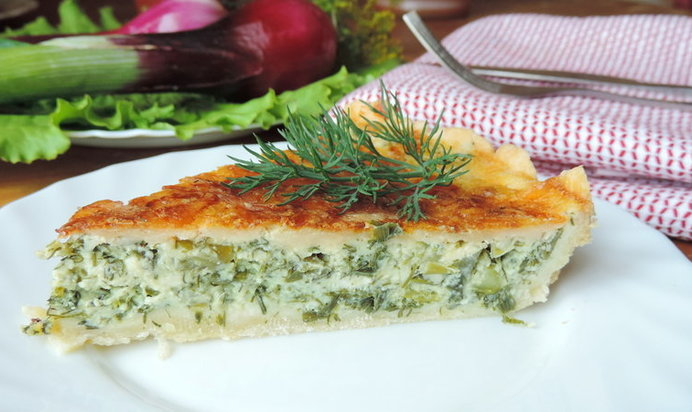 Пирог с зеленью рецепт с пошагово
