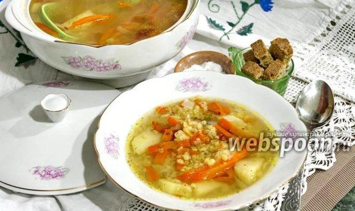 Суп постный в мультиварке рецепты с фото