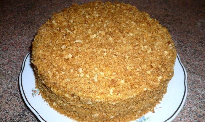 Медовый торт классический рецепт с пошаговым