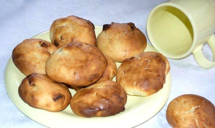 Домашние булочки простой рецепт без дрожжей с фото пошагово