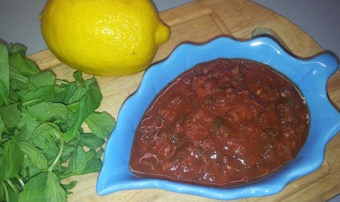 Соус красный к шашлыку рецепт с фото пошагово
