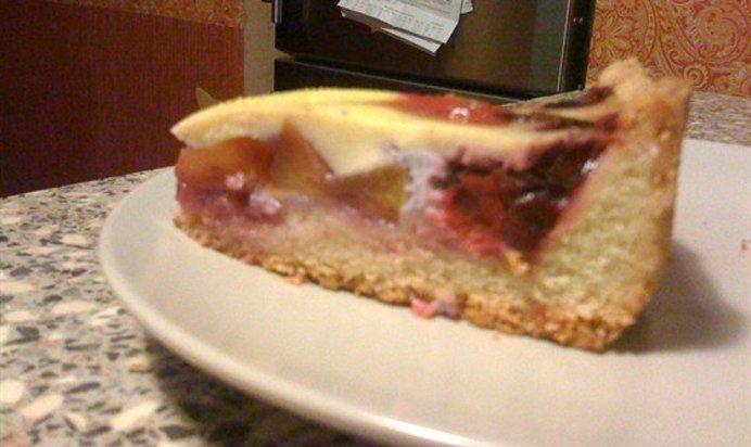пирог с фруктами рецепт с фото пошагово