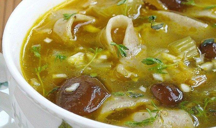 Простые супы рецепты с фото пошагово
