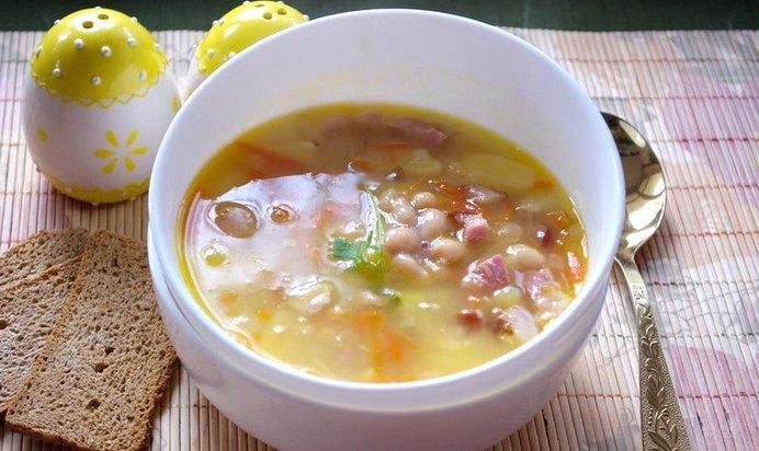 Суп фасолевый рецепт с пошагово