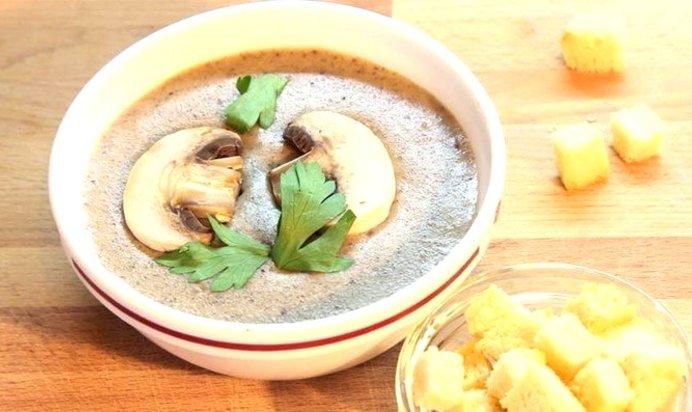 Рецепт простого вкусного грибного супа с фото