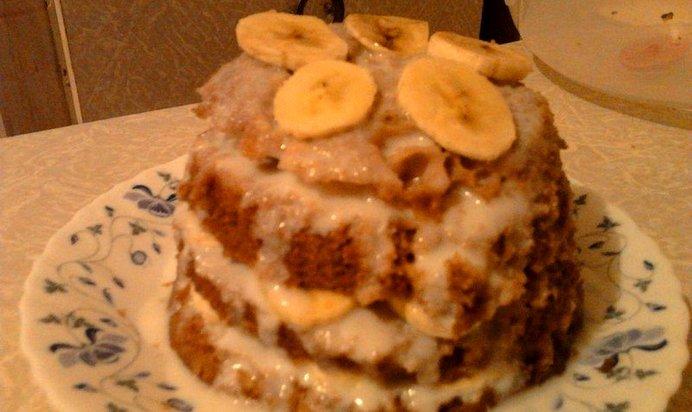 Бисквит с бананами рецепты простые и вкусные