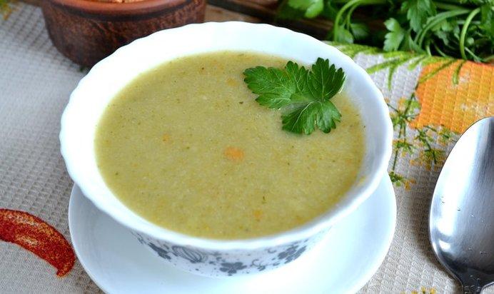 Суп из пюре брокколи рецепт пошагово