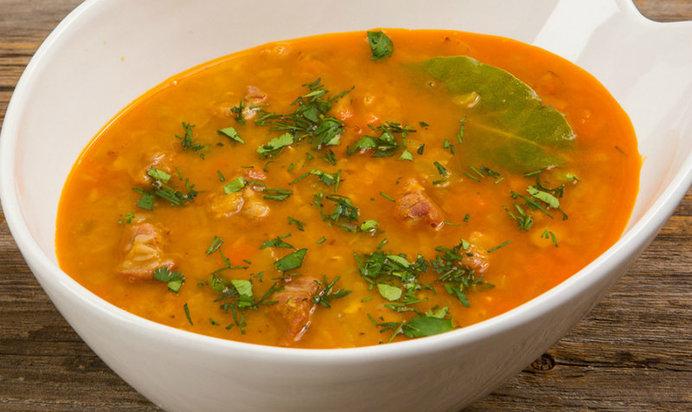 суп из красной чечевицы рецепт с фото пошагово с мясом