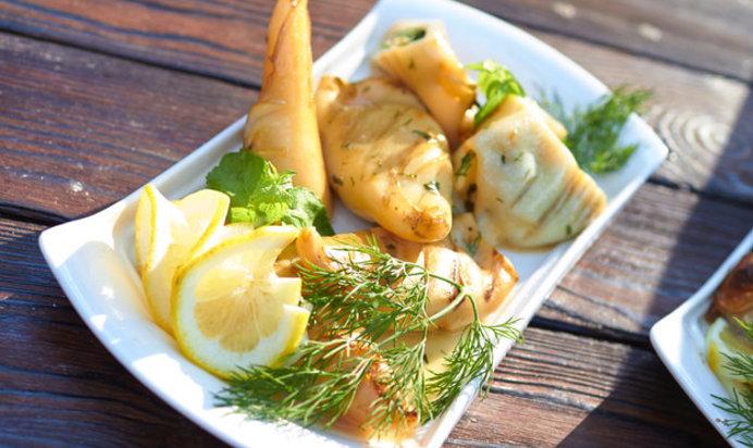 кальмары рецепт с фото пошагово