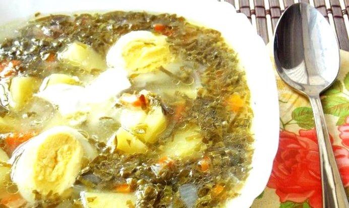Суп из щавеля рецепт пошаговый