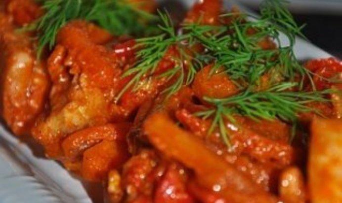 Навага в томатном соусе рецепт