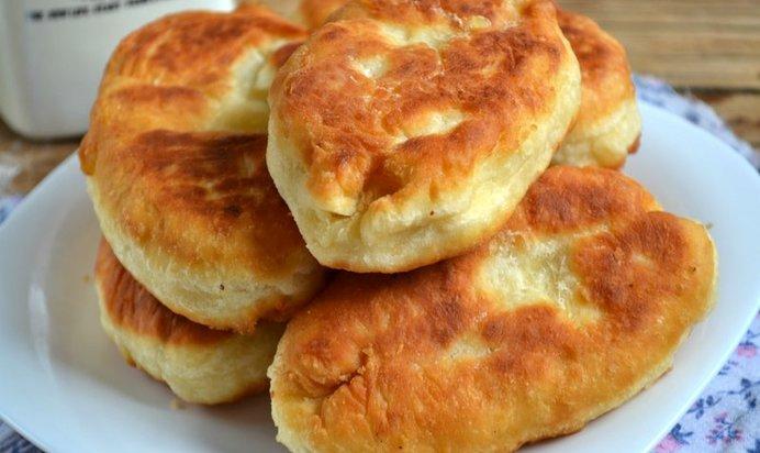 рецепт бездрожжевых пирожков